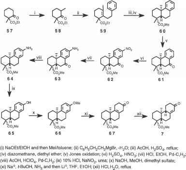 Synthesis of Methyl 7oxopodocarp8en16oate - Stevia Rebaudiana